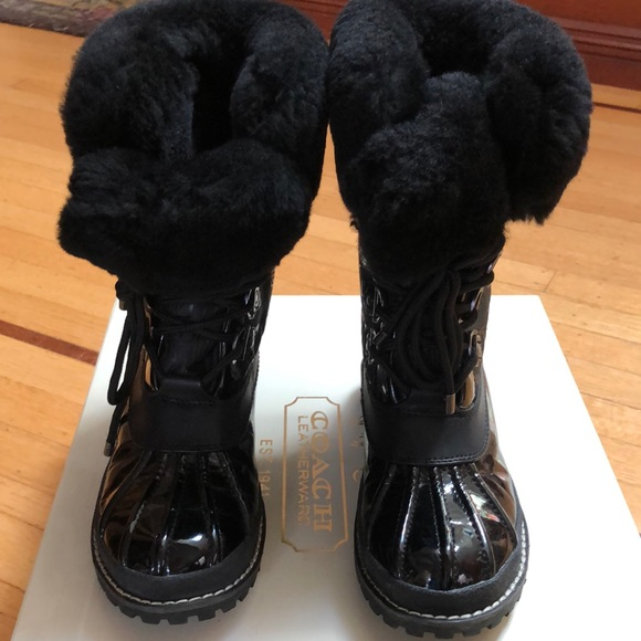 Coach Lenora boots